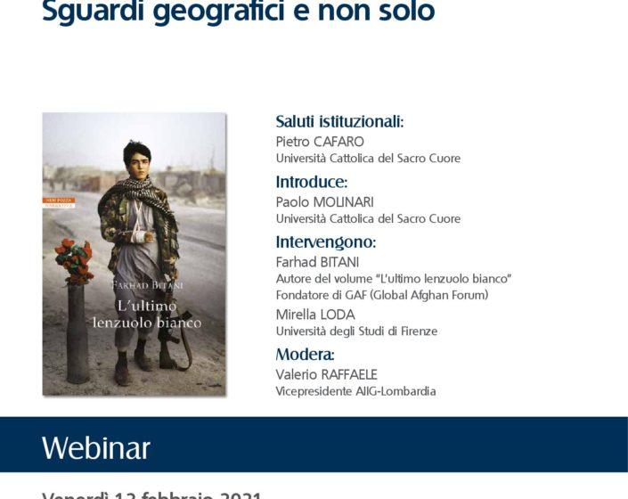 (Italiano) Afghanistan – Sguardi geografici e non solo (12/02/2021) Webinar